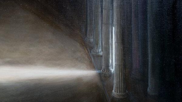 Картина «Из серии — На пороге (Барзах)» Фрагмент 1