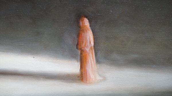 Картина «Из серии — На пороге (Барзах)» Фрагмент 5