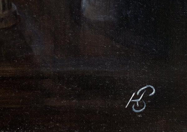 Картина «Из серии — На пороге (Барзах)» Фрагмент 4