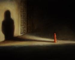 "Картина ""Из серии — На пороге (Барзах)"""