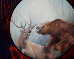 "Картина ""Из серии — Охота (Медведь)"""