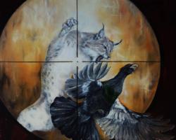 Картина «Из серии — Охота (рысь)»