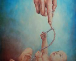 Картина «Из серии — В гостях у Бога (Связь)»