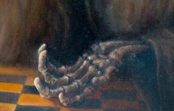 Фрагмент картины кости 2