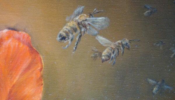 Фрагменты картины Мёд 1