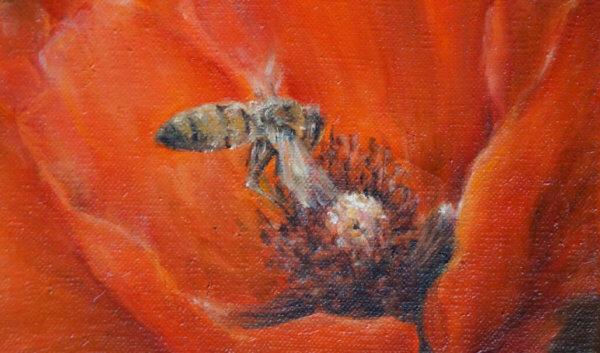 Фрагменты картины Мёд 2
