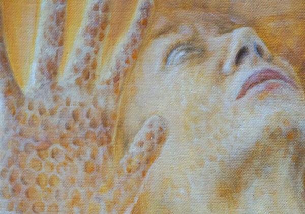 Фрагменты картины Мёд 3