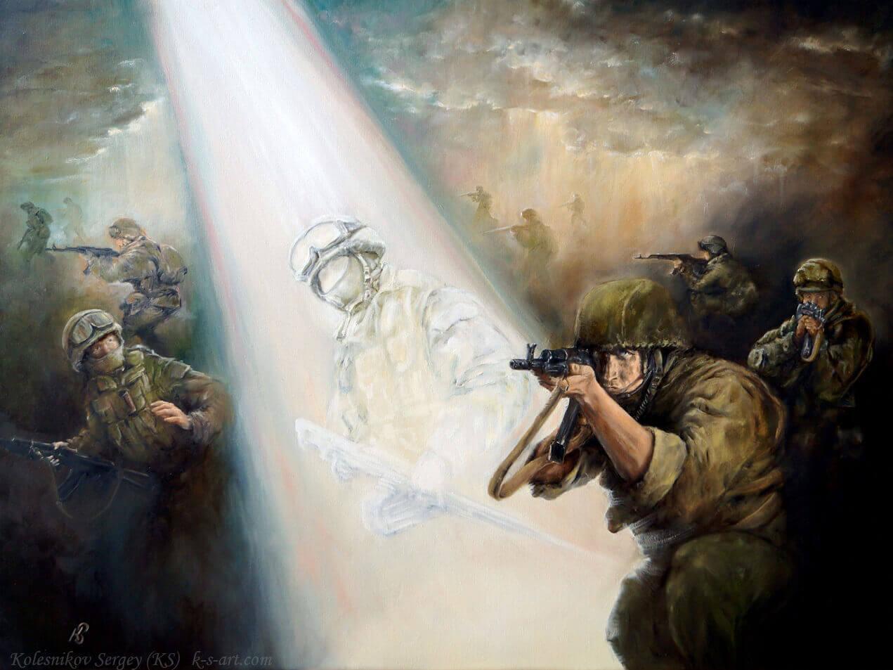 Картина - Pro patria mori