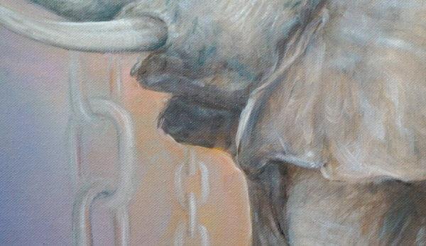 Фрагмент картины Тройка 3