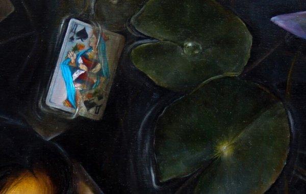 Картина «Омут» фрагмент 1