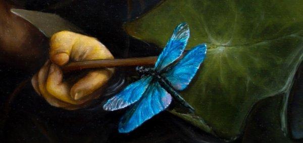 Картина «Омут» фрагмент 3