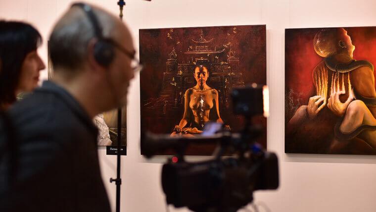 Магазин картин в Москве