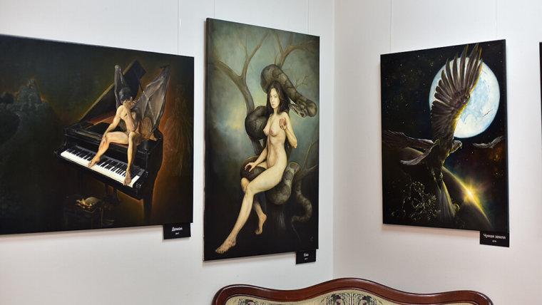 Магазин картин живописи