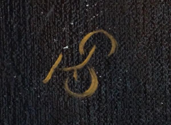 Картина - Вожак интегральный реализм, холст (лен мелкое зерно), масло, художник Сергей Колесников (KS) фрагмент 3