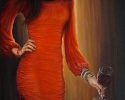 Картина «Красное»
