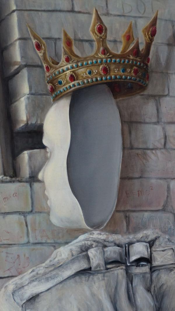 "Картина - ""Саркофаг"" фрагмент 2"