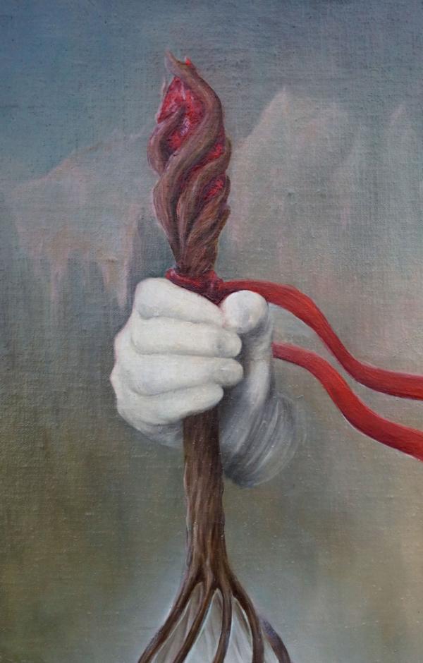 """Картина - """"Стезя"""", фрагмент 3"""