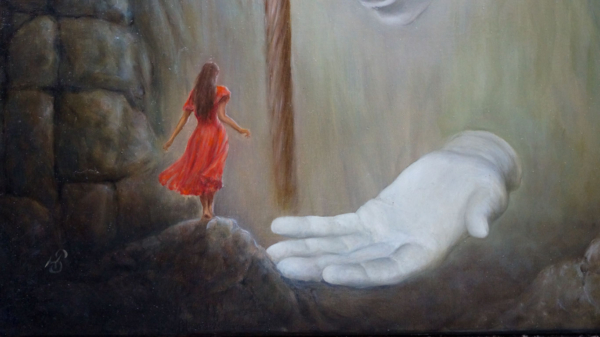 """Картина - """"Стезя"""", фрагмент 2"""