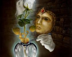 Картина «Алхимик»