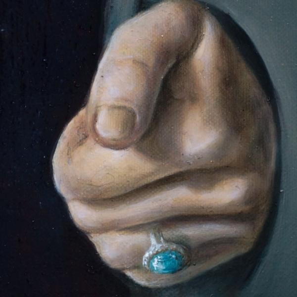 "Картина - ""Сердце"", фрагмент 4"