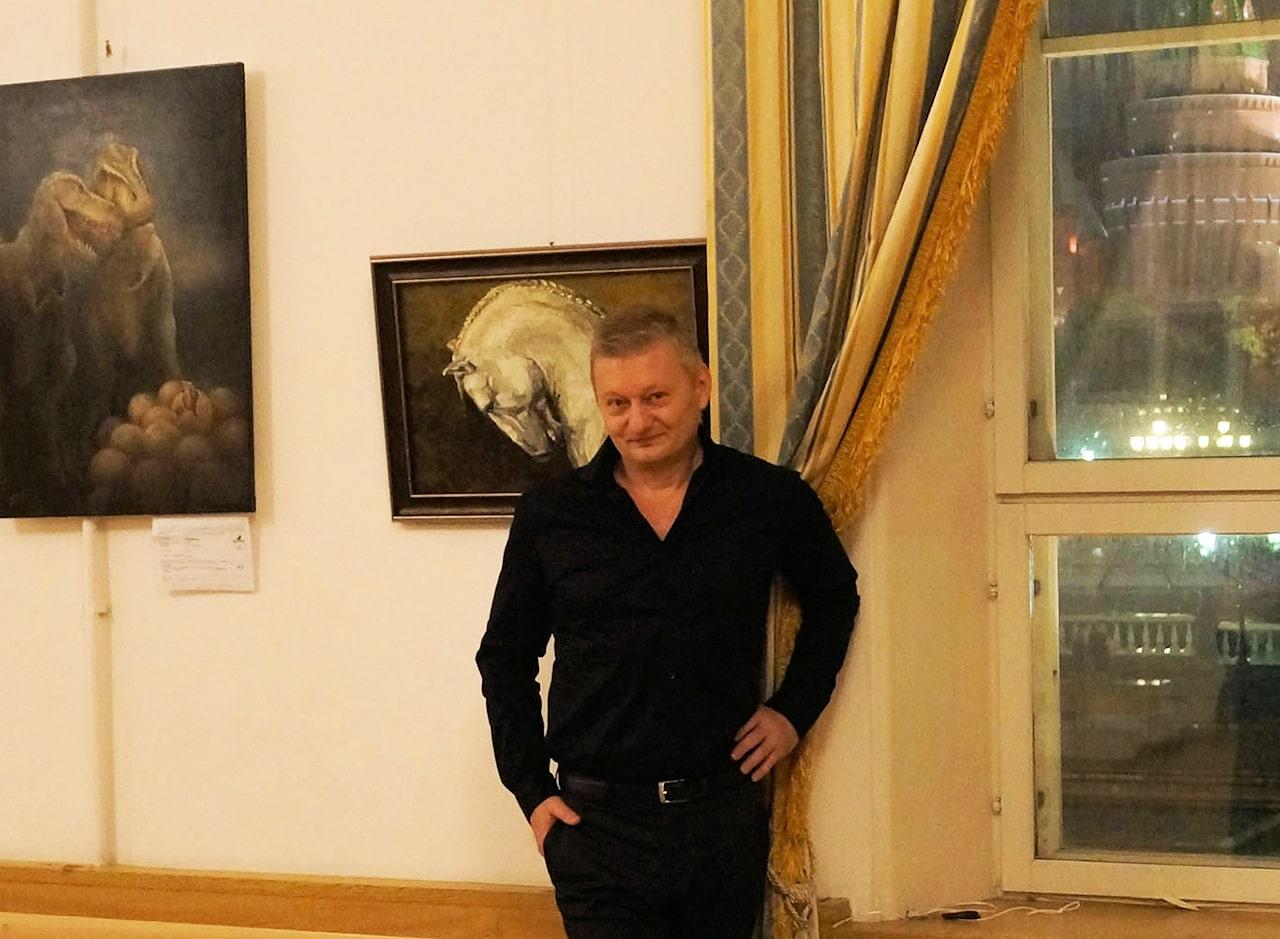 Сергей Колесников в Москве