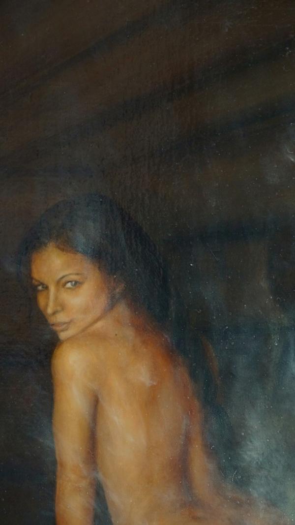 "Картина ""Банник"", фрагмент 5"