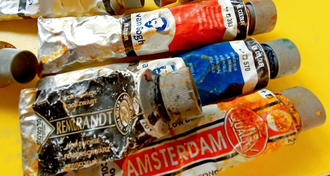 Голландские масляные краски Rembrandt,VanGogh,Amsterdam
