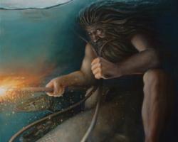 Картина «Водяной»
