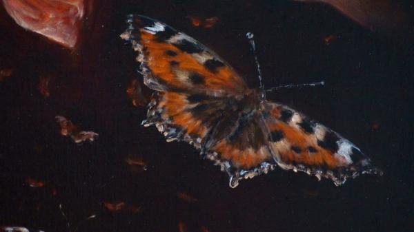 """Картина """"Бабочки"""", фрагмент 3"""